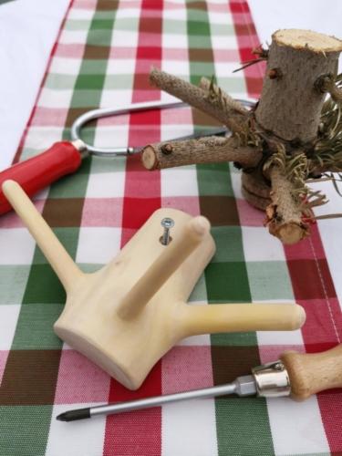 Haken aus Christbaum © Kollaxo